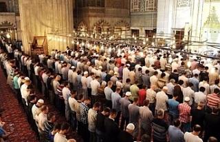 Ramazan Bayram namazı saatleri belli oldu