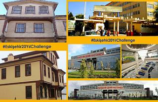 Sosyal medyada #Eskişehir20YılChallenge akımı