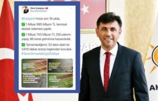 """Zihni Çalışkan:""""1 Milyar 985 Milyon TL Eskişehir'e..."""