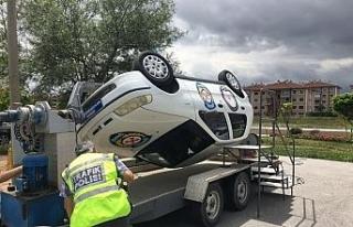 Araç sürücülerine simülatörlü bilgilendirme...