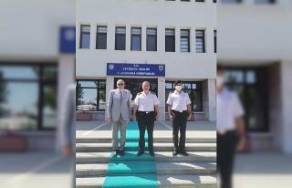 Başkan Bozkurt'tan İl Jandarma Komutanı Atasoy'a...