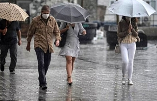 Eskişehir için gök gürültülü sağanak yağış...