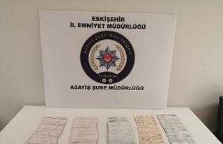 Eskişehir'de dolandırdı, polisin titiz takibi...