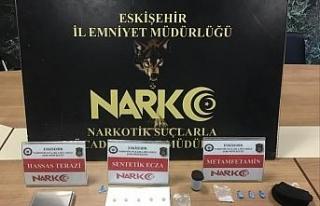 Eskişehir'de torbacılar yakalandı