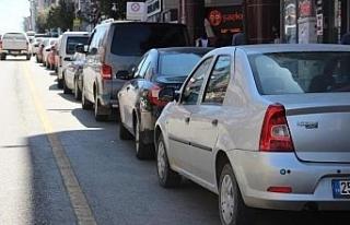 Eskişehir'de trafiğe kayıtlı araç sayısı...