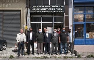 GÜLER'DEN TORNACILAR SİTESİ VE TEKSAN'DAKİ...