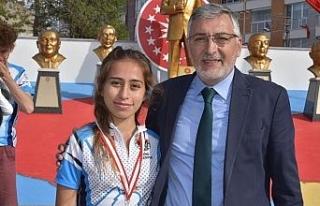 İnönü Belediyesi GSK sporcusu dünya şampiyonasında
