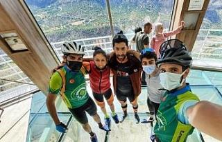 Levent Vadisi Dağ Bisikleti Kupası'nda Eskişehir'den...