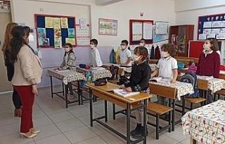 (ÖZEL) Başarıları ile bilinen okulun öğrencileri...