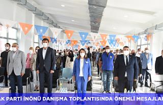 AK Parti İnönü İlçe Danışma Toplantısı gerçekleştirildi
