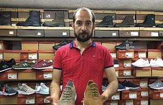 Ayakkabıcılarda bayram yoğunluğu