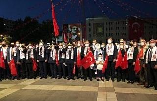 Eskişehir'de 15 Temmuz yıl dönümü etkinliği