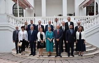 Rektör Erdal, Türkiye-Birleşik Krallık iş birliği...