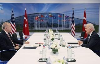 ABD'den Cumhurbaşkanı Erdoğan ile Biden arasında...