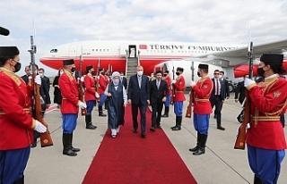 Cumhurbaşkanı Erdoğan'dan Karadağ'a...