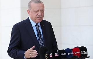 Cumhurbaşkanı Erdoğan, kentsel dönüşüm verilerini...