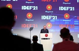 Cumhurbaşkanı Erdoğan: 'Türkiye savunma sanayiinde...