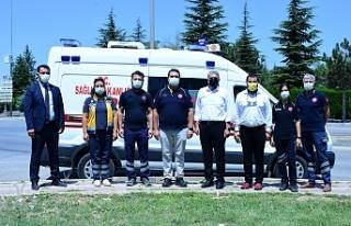ESKİŞEHİR OSB'DE 112 ACİL AMBULANS İSTASYONU...