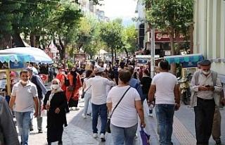 Eskişehir'de 100 binde görülen vaka sayısı...