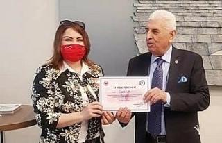 Eskişehir'i Türkiye'de temsil eden tek kadın...