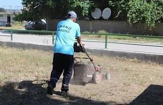 İnönü Belediyesi bakım ve temizlik çalışmalarını...