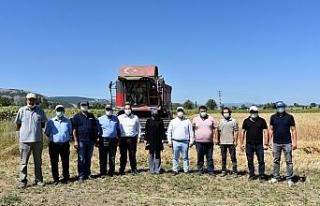 İnönü'de tarımsal faaliyetlerin kazasız geçmesi...