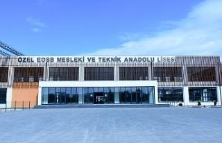 """İSTİHDAM GARANTİLİ"" EOSB MESLEK LİSESİNE..."