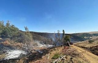 Kaynak makinasından çıkan yangın 300 hektarlık...