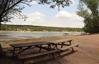 Musaözü Tabiat Parkı bu kez boş kaldı