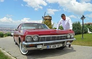 Sıfır araç fiyatına aldığı 1965 model klasik...
