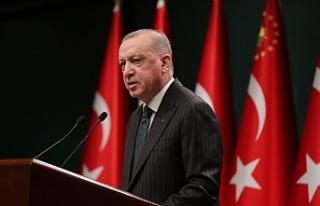 Cumhurbaşkanı Erdoğan: 'Bugüne kadar afet...
