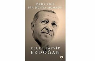Cumhurbaşkanı Erdoğan'ın kitabı 6 Eylül'de...
