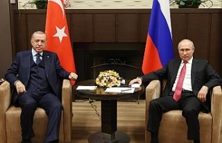 """Cumhurbaşkanı Erdoğan: """"Suriye'nin barışı..."""