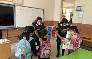 'Güvenli Okul, Güvenli Gelecek Projesi' jandarma...