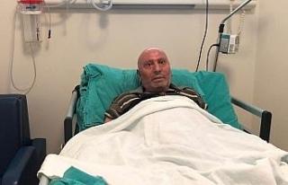 Orman yangınında yaralanan Yaşar Kozakbaş artık...
