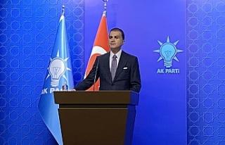 """AK Parti Sözcüsü Çelik: """"Mavi vatanda her türlü..."""