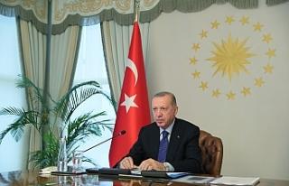 Cumhurbaşkanı Erdoğan: 'G20 bünyesinde bir...