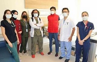 Eskişehir Şehir Hastanesi'nde 'Skolyoz' tedavileri...