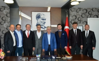 Cumhur İttifakı'ndan Eskişehirspor'a ziyaret
