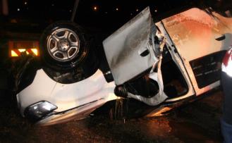 Otomobil ile DSİ'nin sulama kanalına uçan şahıs hayatını kaybetti