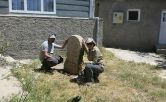 Eskişehir'de üzerinde dört satır Paleo-Frigçe yazıt olan idol bulundu