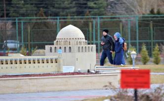 Türk Dünyası Şaheserleri Parkı'na Yoğun İlgi