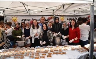 """""""AK Parti Kadın Kollarından Aşure İkramı''"""
