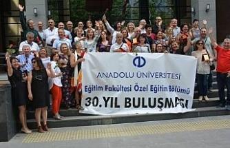 Özel Eğitim Bölümü mezunlarından '30. yıl Buluşması'