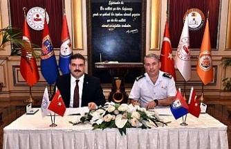 Anadolu Üniversitesinden Jandarma ve Sahil Güvenlik Akademisine eğitim desteği