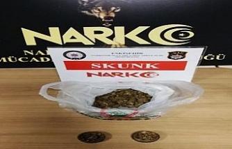 Eskişehir'de uyuşturucu operasyonu: 1 gözaltı