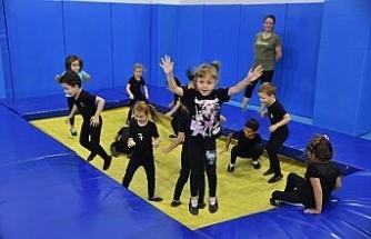 Geleceğin jimnastikçileri Tepebaşı'nda yetişiyor