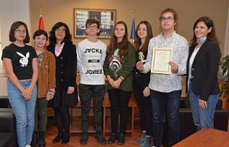 Devlet konservatuvarı öğrencilerine ödül