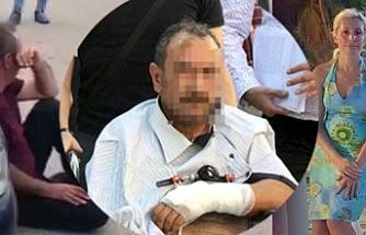 Eşini satırla ağır yaralamıştı tutuklandı.