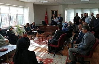 Eskişehir Kardeşlik Platformu'ndan Tepebaşı Kaymakamı Erdinç Yılmaz'a Destek Ziyareti